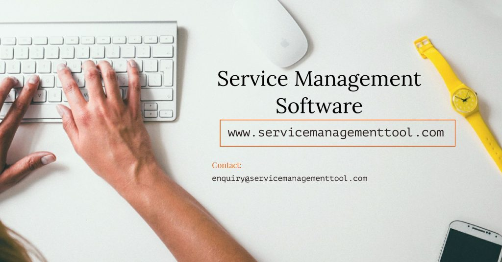 Environment With Service Management Software